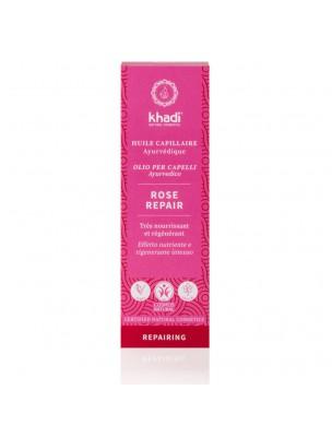 Huile de Soin capillaire - Rose Repair 50 ml - Khadi