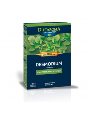 C.I.P. Desmodium Bio - Fonctionnement hépatique 20 ampoules - Dietaroma