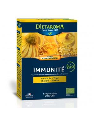 C.I.P. Immunité Bio - Défenses naturelles 20 ampoules - Dietaroma