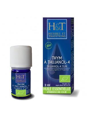 Thym à Thujanol Bio - Huile essentielle de Thym vulgaris CT thujanol 2 ml -...
