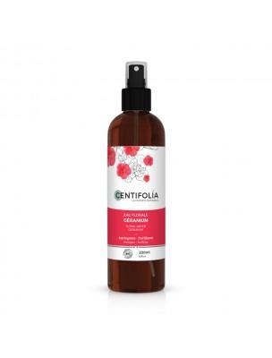Géranium Bio - Hydrolat (eau florale)  200 ml - Centifolia