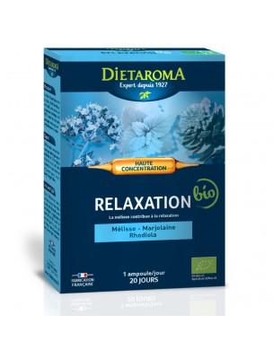 C.I.P. Relaxation Bio - Détente 20 ampoules - Dietaroma