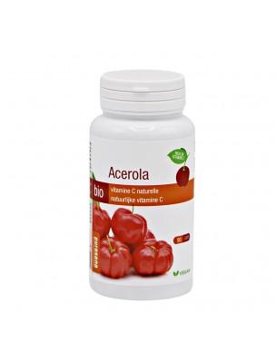 Acérola Bio - Vitamine C naturelle 90 comprimés - Purasana