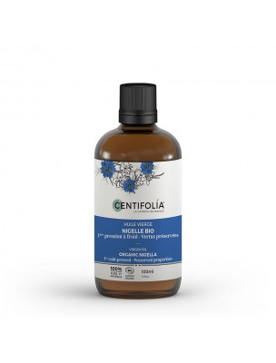 Nigelle Bio - Huile vierge 100 ml - Centifolia