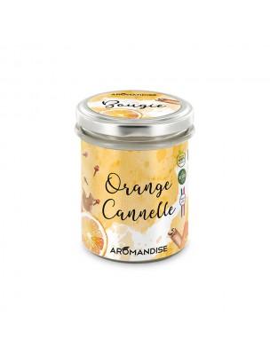 Bougie Orange Cannelle - Senteurs Chaleureuses 150 g - Aromandise