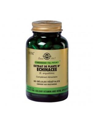 Echinacée  - Défenses immunitaires 60 gélules végétales - Solgar