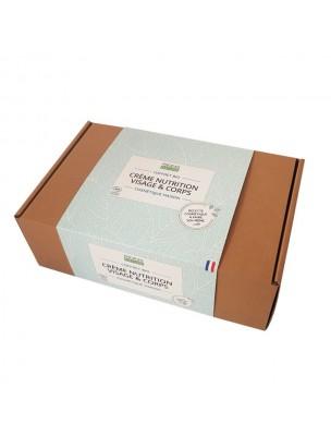 Coffret Cosmétique Maison Crème nutrition Visage et Corps Bio - Kit complet -...