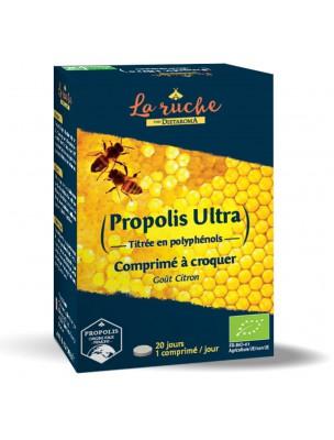 Propolis Ultra Bio - Immunité 20 Comprimés à Croquer - Dietaroma