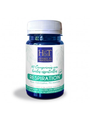 Respiration Bio - Voies respiratoires 60 comprimés - Herbes et Traditions