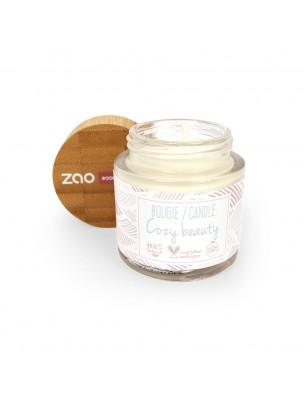 Bougie d'Ambiance Bio - Cire végétale parfumée 160 g - Zao Make-up