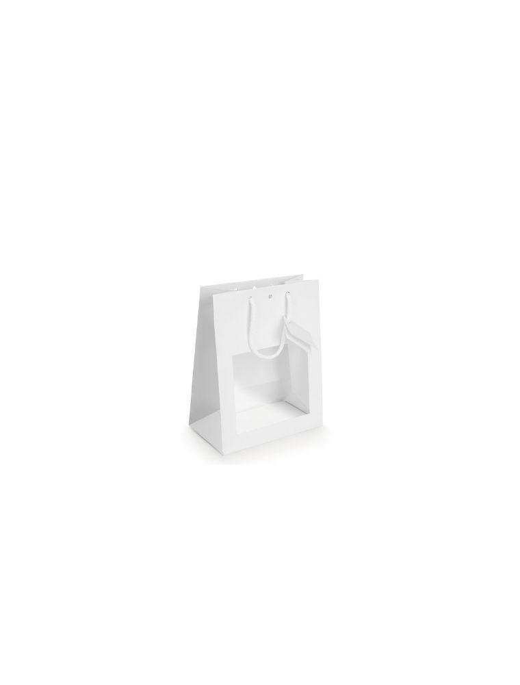 Sac Vitrine Blanc - Petit modèle - Emballages Cadeaux