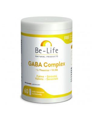 GABA Complex - Acide Aminé 60 gélules - Be-Life