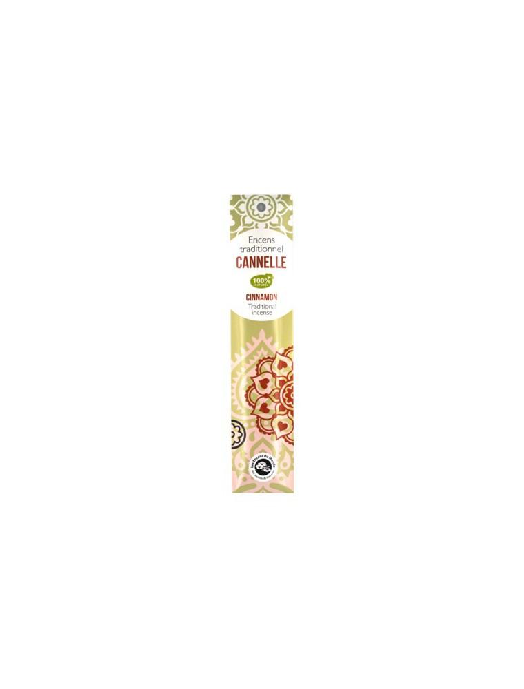 Cannelle encens indiens - 20 bâtonnets - Les Encens du Monde