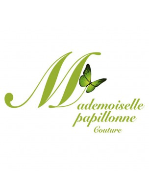 Cape de Bain Bébé Vert - Eponge de Bambou - Mademoiselle Papillonne