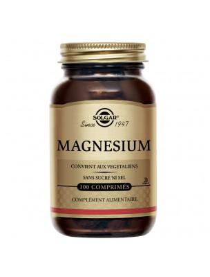 Magnésium 100 mg - Stress 100 comprimés - Solgar