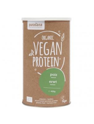 Vegan Protein Bio - Protéines Végétales Pois 400 g - Purasana