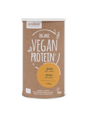 Vegan Protein Bio - Protéines Végétales Pois Goji Vanille 400 g - Purasana