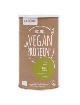 Vegan Protein Bio - Protéines Végétales Riz 400 g - Purasana