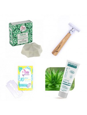Pack Rasage écologique pour les Hommes - Louis Herboristerie