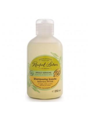 Shampooing Douche Doux Bio - Argile Verveine 250ml - Rampal Latour