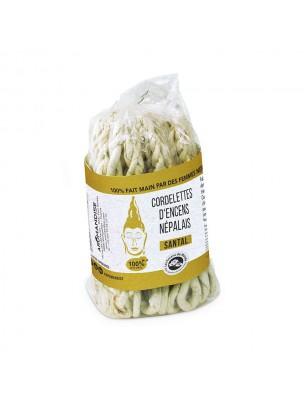 Cordelettes Népalaises - Encens Santal 40 cordelettes - Les Encens du Monde