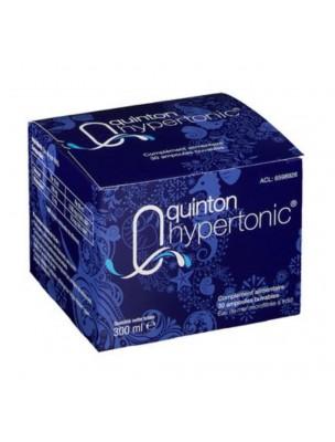 Quinton Hypertonique - Eau de Quinton 30 ampoules de 10 ml - Quinton