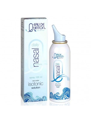 Spray nasal Quinton Isotonique - Eau de Quinton 100 ml - Quinton