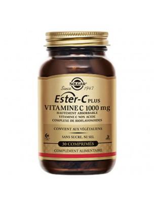 Ester-C Plus 1000 mg - Défenses immunitaires 30 comprimés - Solgar