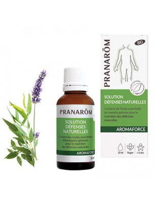 Aromaforce - Solution Défenses naturelles Bio - Huiles essentielles 30 ml -...