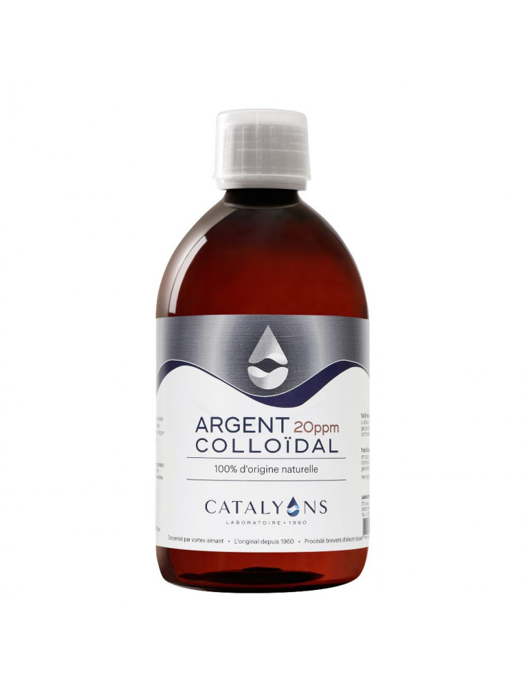 Argent colloïdal - Oligo-élément 500 ml - Catalyons