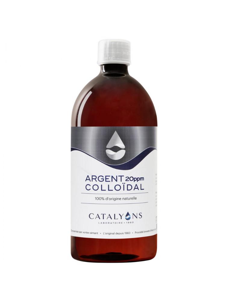 Argent colloïdal -  Oligo-élément 1 litre - Catalyons