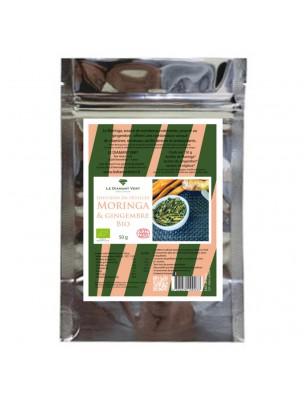 Moringa Gingembre Bio - Tisane de Moringa oleifera, Gingembre - Le Diamant Vert