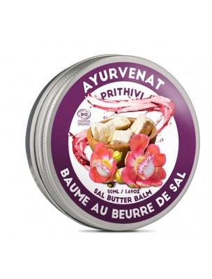 Baume au beurre de Sal Bio - Ayurvenat Prithivi 50 ml - Le Secret Naturel