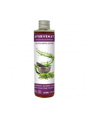 Gel douche aux 18 plantes actives Bio - Ayurvenat 200 ml - Le Secret Naturel
