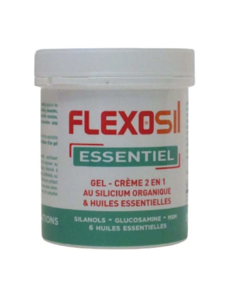 Flexosil Essentiel - Gel de massage au Silicium organique et Huiles essentielles 200 ml - Nutrition Concept