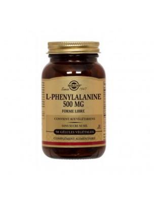 L-phenylalanine - Acide aminé 50 gélules végétales - Solgar