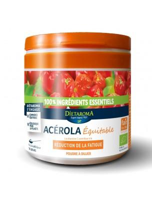 Acérola Poudre Bio - Réduction de la fatigue 50g - Dietaroma