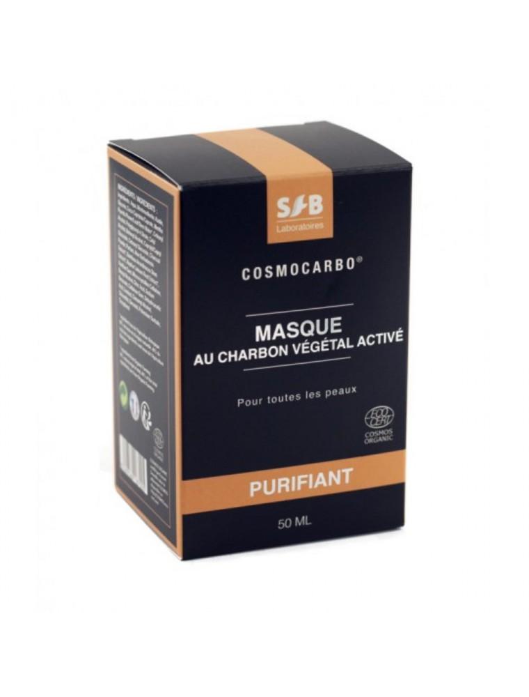 Masque Charbon Végétal Activé Bio - Purifiant 50ml - SFB Laboratoires