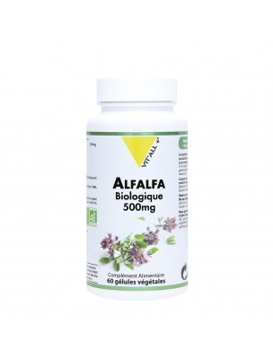 Alfalfa Bio 500 mg - Articulations et Circulation 60 gélules végétales - Vit'all+