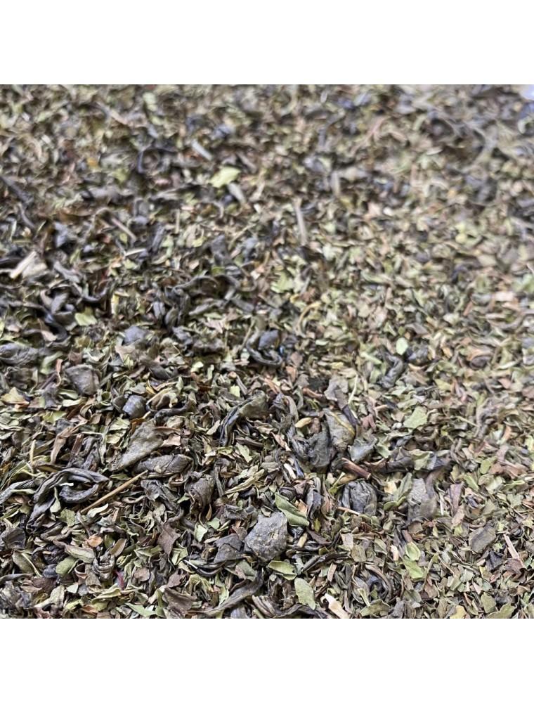 Thé Menthe-Safran Bio - Thé Vert ardennais 30 grammes - Le Safran