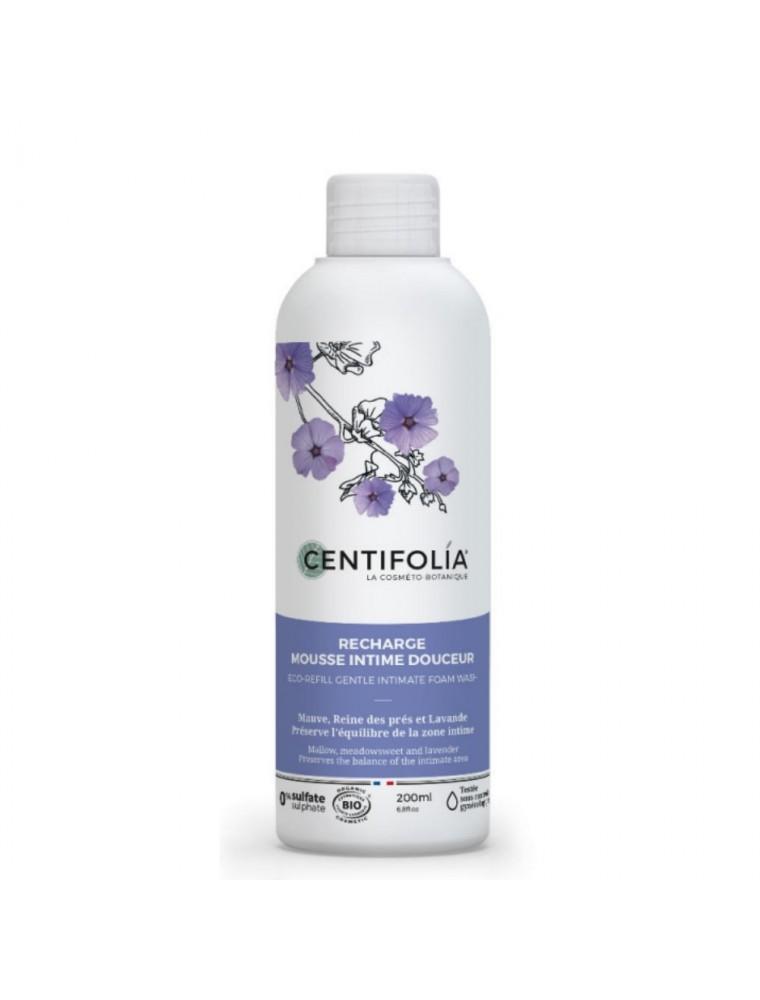 Mousse intime Recharge Bio - Hygiène intime 200 ml - Centifolia