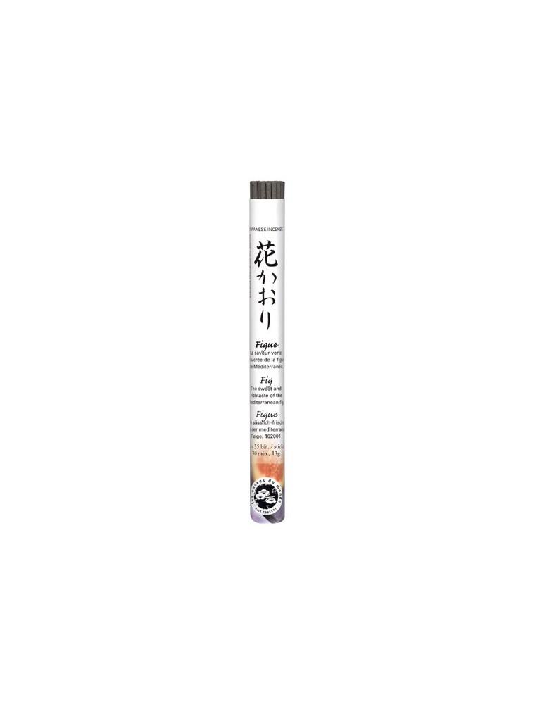 Figue encens japonais - 35 bâtonnets - Les Encens du Monde