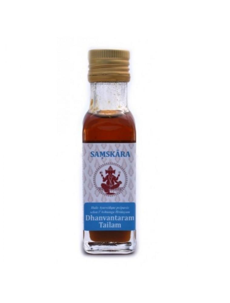 Dhanvantaram Tailam - Huile Ayurvédique 100 ml - Samskara