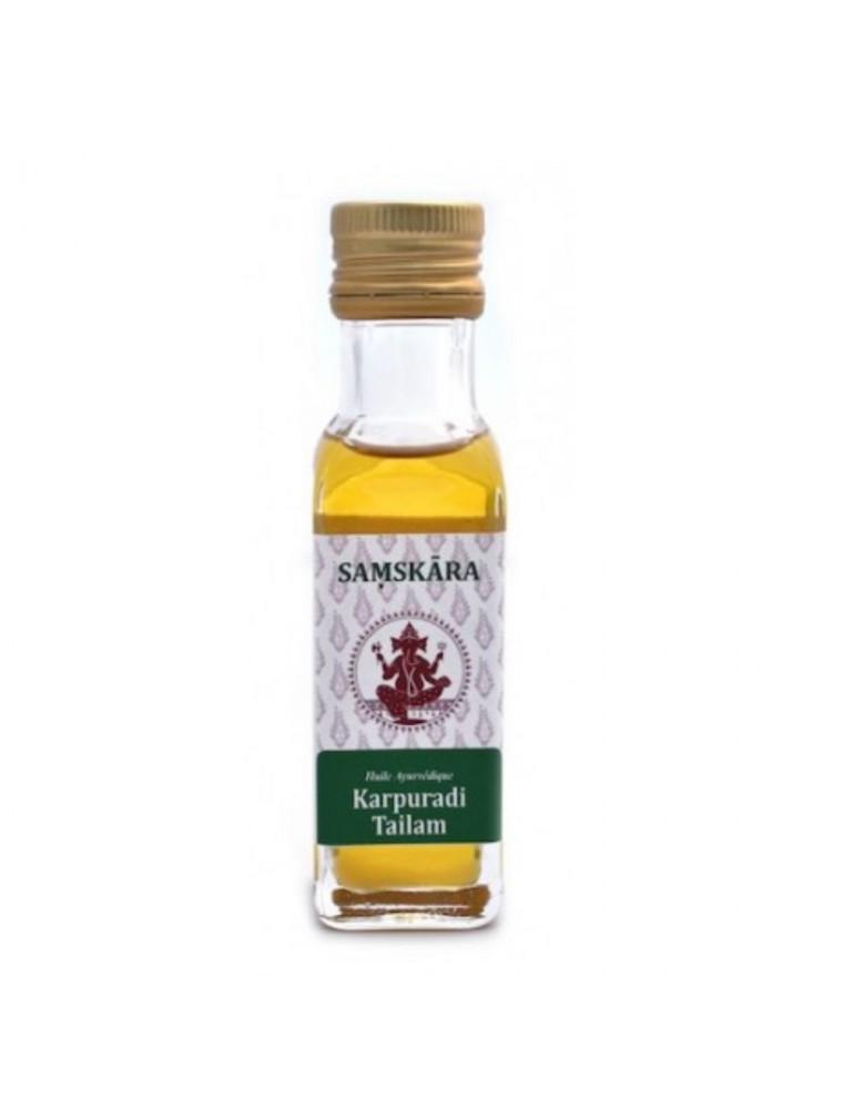 Karpuradi Tailam - Huile Ayurvédique 100 ml - Samskara