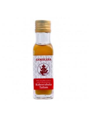 Ksheerabala Tailam - Huile Ayurvédique 100 ml - Samskara