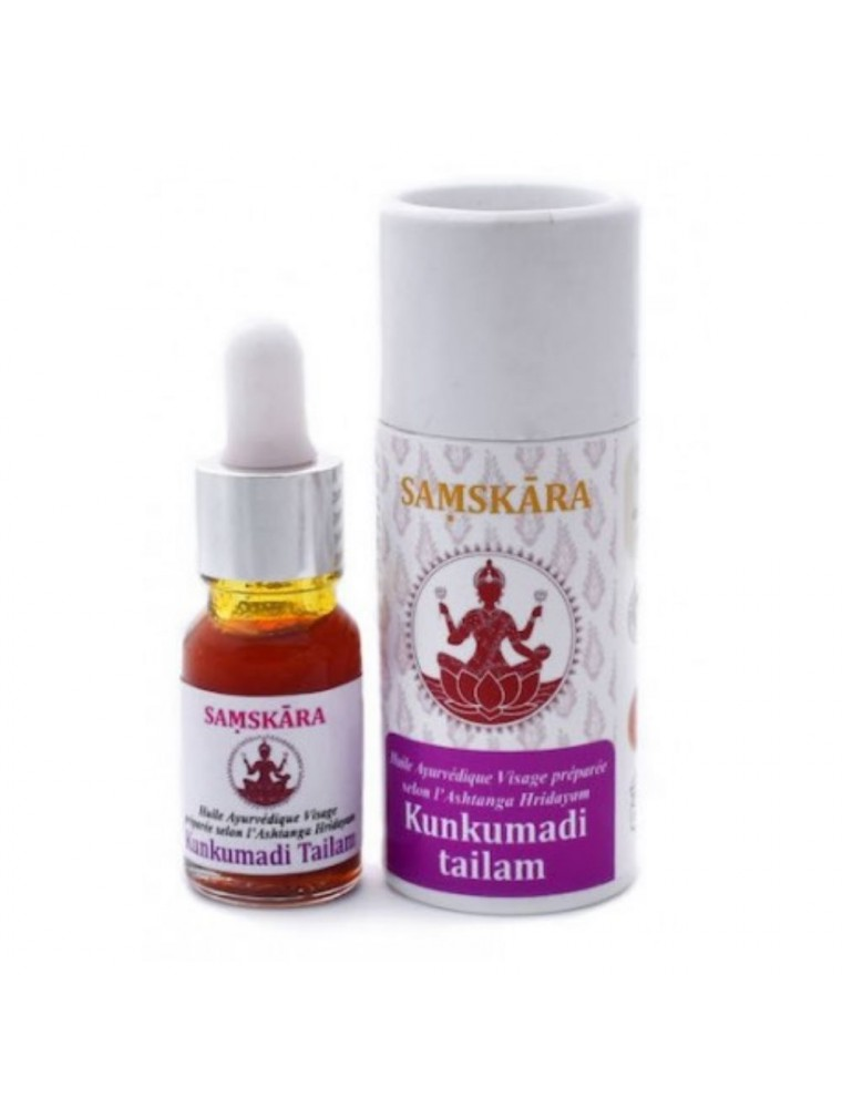 Kunkumadi Tailam - Huile Ayurvédique Visage 10 ml - Samskara