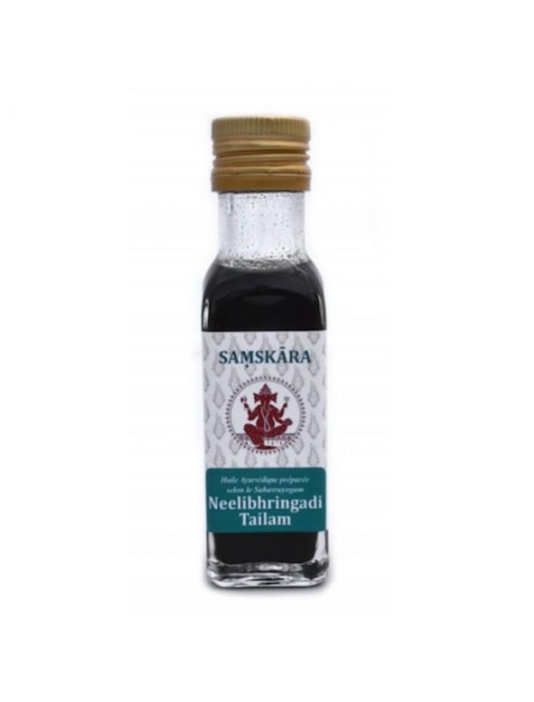 Neelibhringadi Tailam - Huile Ayurvédique 100 ml - Samskara
