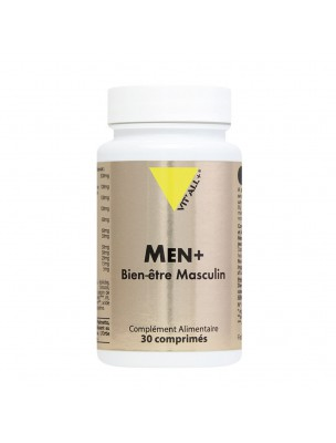 Men Plus - Confort urinaire 30 comprimés - Vit'all+
