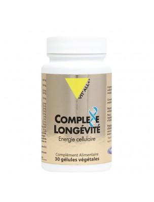 Image de Complexe Longévité - Energie et Protection cellulaire 30 gélules végétales - Vit'all+ depuis Le reishi stimule vos défenses immunitaires