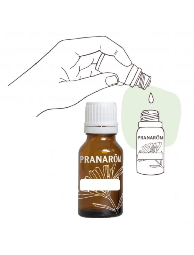 Flacon vide DIY de 10 ml avec compte-gouttes - Pranarôm